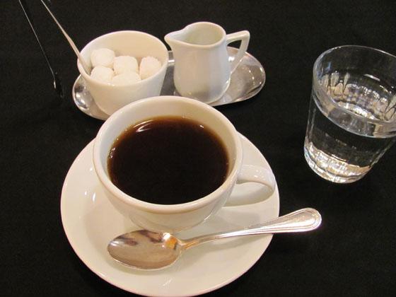 パスタランチのコーヒー