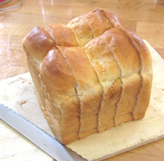 切った食パン