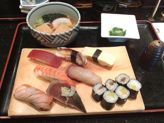お寿司ランチ梅