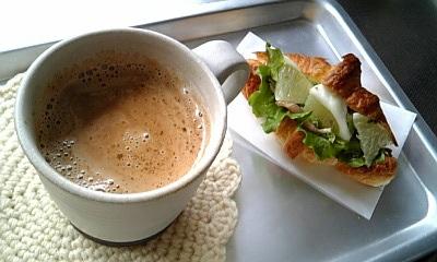 インカコーヒーと・・・