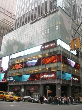 サブプライム問題で破綻したリーマン・ブラザーズ証券NY本店