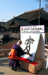 2008年の漢字「変」