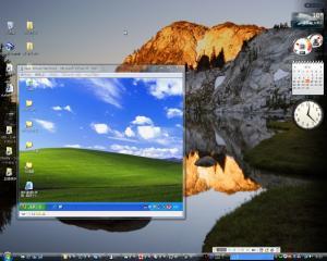 Vista上でXPを動かす