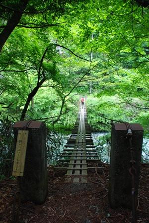 浅瀬吊り橋