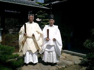 岩田神社・中野天満宮宮司
