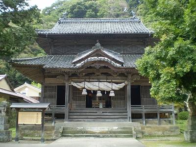 正一位 城上神社