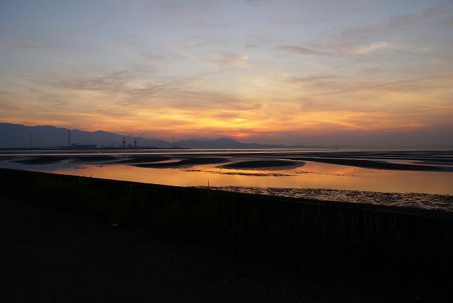 加茂川河口付近①20080707