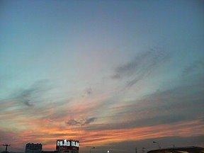 きれいな夕焼け