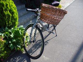 自転車かご1