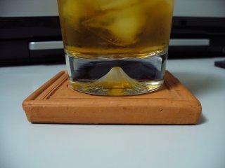富士山のグラス