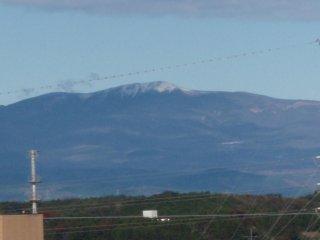 栗駒山冠雪