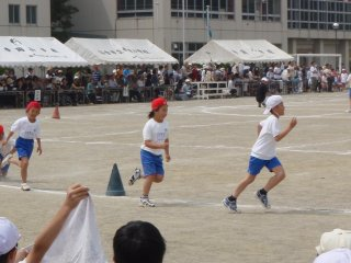 息子の運動会