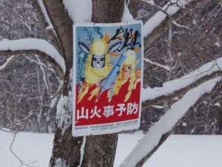 山火事予防