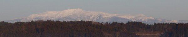 今朝の栗駒山