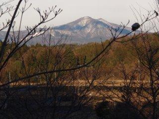 今朝の泉ヶ岳