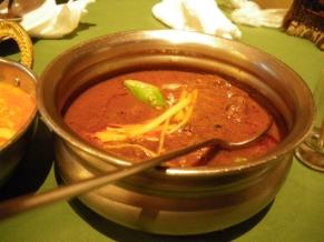 マトンの黒胡椒カレー