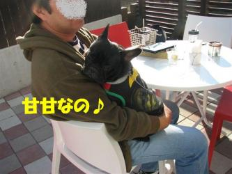 10月12日シンちゃん&パパ