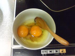 タマネギと卵