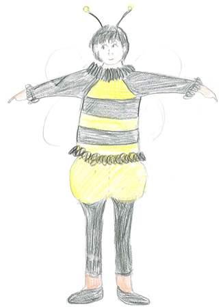 halloween_honey bee draft