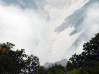大雪渓クローズアップ