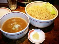 極太味噌つけ麺、魚味・大盛