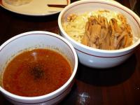 坦々つけ麺・大盛・メンマ