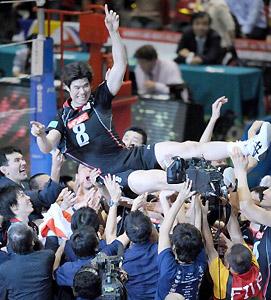 アルゼンチン戦勝利