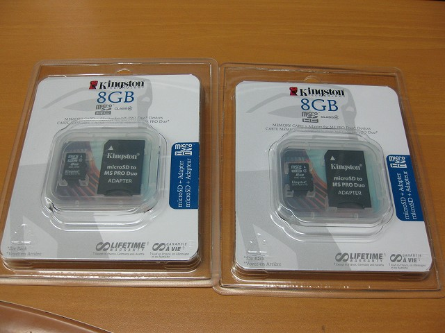 microSD-8G×2