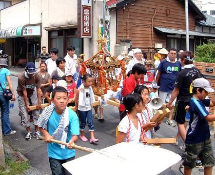 上野町お神輿