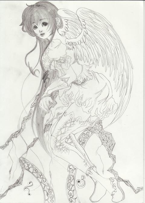 時を刻む天使