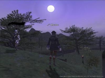 月はでているか?!