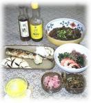 秋刀魚の塩焼き定食