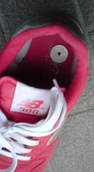 お金が靴に