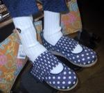 Mちゃんのお靴