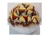 1人用バナナミルクチョコレートカキ氷