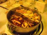 激辛鍋&普通の鍋