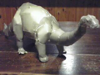 ブロントサウルス完成