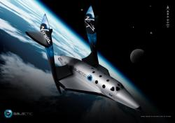 SpaceShipTwo Feather 1