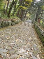 大神山神社参道石畳1