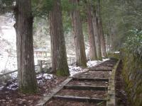 滝山神社参道