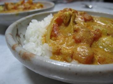 インド風バターチキンカレー