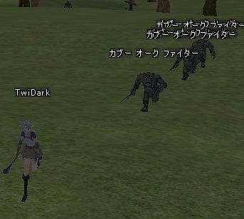 十和田追いかけられるの図