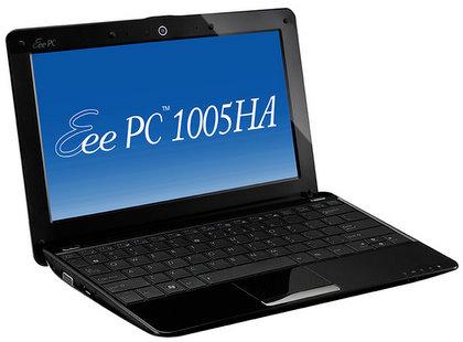 ASUSTeK、最長約10.2時間駆動のEee PC 1005HAを発売