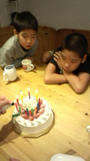 一成のケーキ