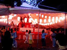 民踊大会会場