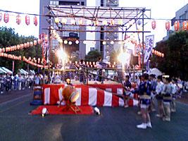 桜田公園盆踊り会場