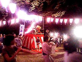 西久保八幡神社のやぐら