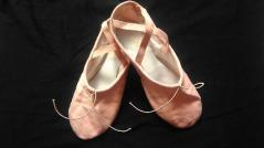 my first ballet shoes