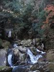 城山滝からの流れ