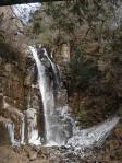 凍った小野の滝は初めて!